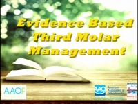 Evidence-based Management of Third Molars