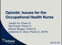 Opioids: Issues for the Occupational Health Nurse