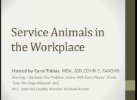 What Service is Your Animal Performing?