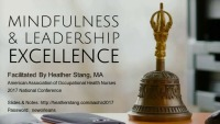 Mindfulness and Leadership Excellence