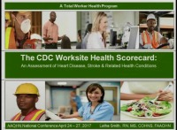Review and Application of the CDC Worksite Health Scorecard: A Total Worker Health® Tool