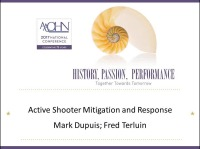 Active Shooter Mitigation and Response