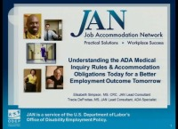 Disability-Related Inquiries and the ADA: Understanding Obligations Today for Better Employment Outcomes Tomorrow