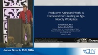 Productive Aging and Work: A Framework for Creating an Age-Friendly Workplace