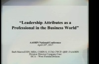 Leadership Attributes as a Professional in the Business World
