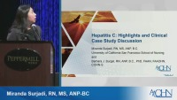 Hepatitis C: Highlights and Clinical Case Study Discussion