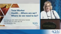 Total Worker Health: Where are we......Where do we need to be?