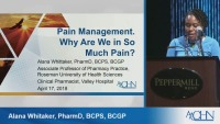 Pain Management and Opioids