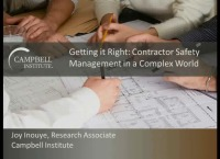 Getting it Right: Contractor Safety Management in a Complex World