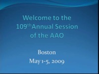 2009 Annual Session - Live Clinical Procedures: Lingual Indirect Bonding