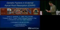 2009 Annual Session - Genetic Factors in External Apical Root Resorption
