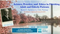 2018 AAO Annual Session - Edward H. Angle Award Lecture - Science, Practice and Ethics in Finishing Adult and Elderly Patients