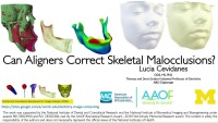 2019 AAO Annual Session - Can Aligners Correct Skeletal Malocclusions?