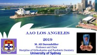 2019 AAO Annual Session - Openbite Correction Using Aligners: Thinking Through Digital Setups for Improved Clinical Finishes