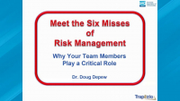 Meet The Six Misses of Risk Management-2020 Webinar