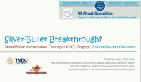 2020 Winter Conference - Silver-Bullet Breakthrough? Mandibular Autorotation Concept (MAC) Surgery: Rationales and Outcomes