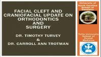 Cleft Palate and Craniofacial Update on Orthodontics and Surgery