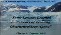 Lessons Learned in 35 Years of Treating Obstructive Sleep Apnea