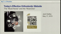 """Today's Effective Website: The """"Must-haves"""" and the """"Must-dos"""""""