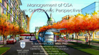 Management of OSA from Orthodontic Perspectives