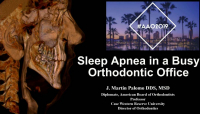 Sleep Apnea in a Busy Orthodontic Office