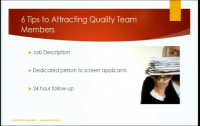 Attracting, Hiring and Retaining High Quality Team Members