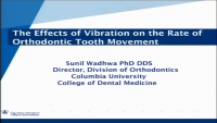 Can Vibration Accelerate Orthodontic Tooth Movement?