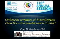 Orthopedic Correction of Hyperdivergent Class II's: Is it Possible and is it Stable?