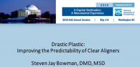 Drastic Plastic: Improving the Predictability of Clear Aligners