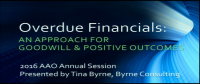 Overdue Financials: An Approach for Goodwill and Positive Outcomes