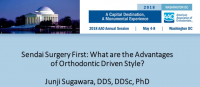 Sendai Surgery First: What are the Advantages of Orthodontic Driven Style?