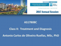 Class II: Treatment and Diagnosis