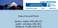 Cows, Cars and Trains