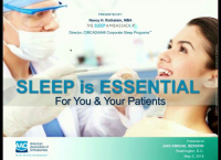 Sleep is Essential: For You & Your Patients