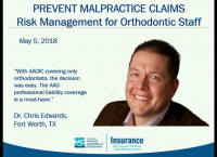 Risk Management for Orthodontic Staff