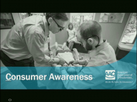 7 Reasons the AAO's Consumer Awareness Program is LIT! presented by the AAO Council on Communication