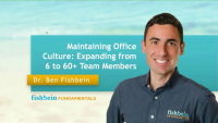 Maintaining Office Culture: Expanding from 6 to 60 Team Members