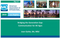 Bridging the Generation Gap: Communication for All Ages