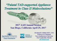 Palatal TAD-supported Appliance Treatment in Class II Malocclusions