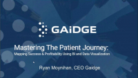 Mastering the Patient Journey: Mapping Success and Profitability Using Business Intelligence and Data Visualization