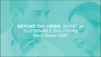 Beyond the Crisis: Invest in Sustainable Solutions