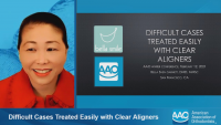 Difficult Cases Treated Easily with Clear Aligners