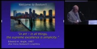 2009 Annual Session - Facial Esthetics Through the Ages: Broadening Our Vision in Orthodontics (Angle Lecture)