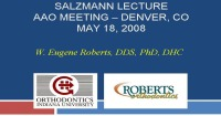 2008 Annual Session - Quality Assessment of Clinical Outcomes (Salzmann Lecture)