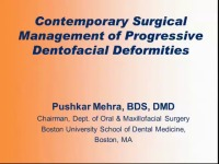 2012 Annual Session - Contemporary Surgical Management of Progressive Dentofacial Deformities / Case Report:  Unique Orthodontic and Orthognathic Surgical Complications and Management