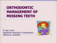 2015 AAO Annual Session - Orthodontic Management of Missing Teeth icon