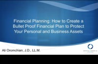 2016 AAO Webinar - Estate Planning: How to Create a Bullet Proof Estate Plan to Protect your Personal and Business Assets