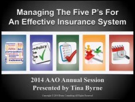 2014 Annual Session - Managing the Five P's for an Effective Insurance System