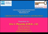 2013 Annual Session - Collecting Your Fee: Legal, Practical and Ethical Issues
