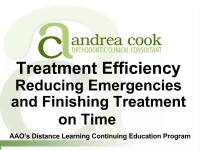 2015 AAO Webinar – Reducing Emergencies and Finishing Treatment on Time